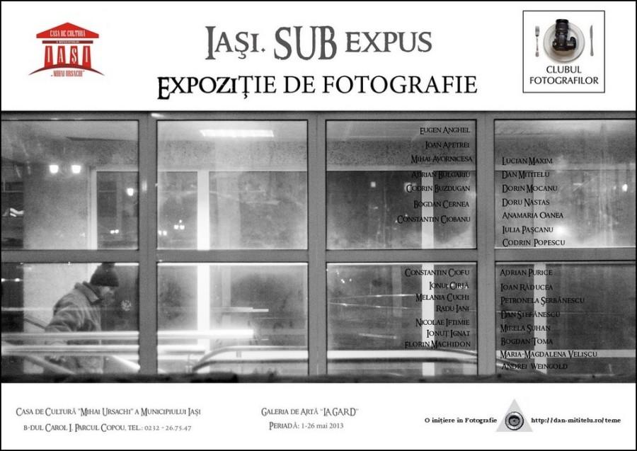 afis expozitie iasi subexpus 2013