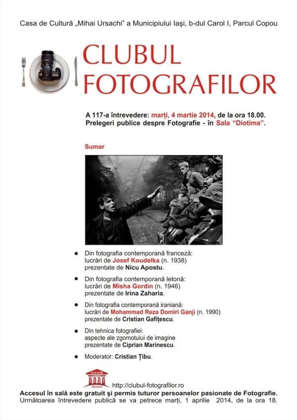 clubul fotografilor prelegere publica 117 2014