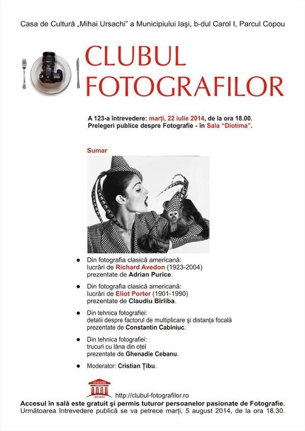 clubul fotografilor prelegere publica 123 2014