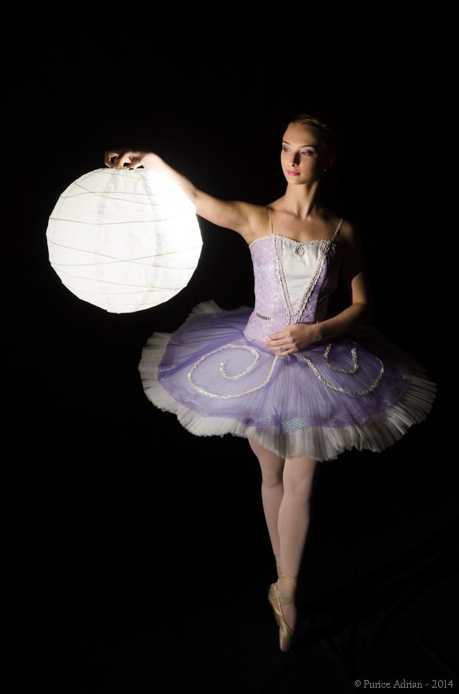 ballerina portrait study